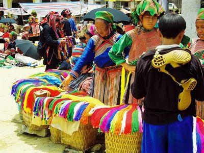 بازار باک ها در لائو کای