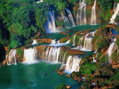 آبشارهای بان گیوک در کائو بانگ