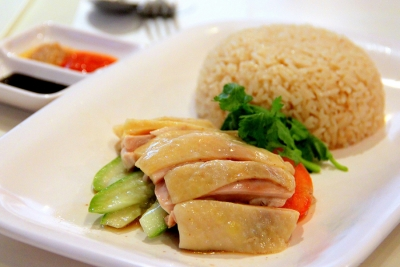 Chicken Rice (برنج با مرغ)