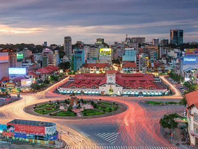 Ben Thanh Market در هوشی مینه