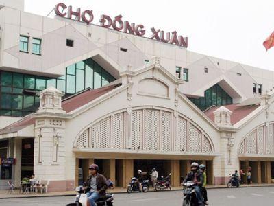 Dong Xuan Market در هانوی