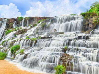 آبشار پانگور در لام دونگ