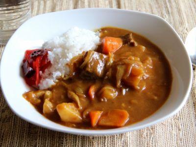 برنج کاری ژاپنی Japanese curry rice
