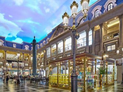 Shoppes at parisian